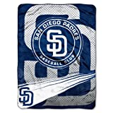 "MLB San Diego Padres Speed Plush Raschel Throw, 60"" x 80"""