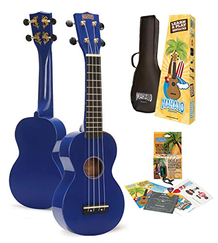 Mahalo Ukuleles Rainbow Series, 4-String Ukulele, Right, for sale  Delivered anywhere in Canada