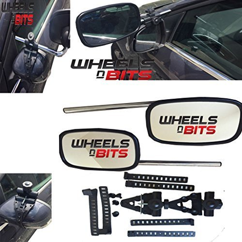 BMW 3, 5, 6, 7, 8 Series X1 X3 Z4 PREMIUM FIT 2X CARAVAN TOWING MIRROR EXTENSION CAR WING MIRRORS Wheels N Bits