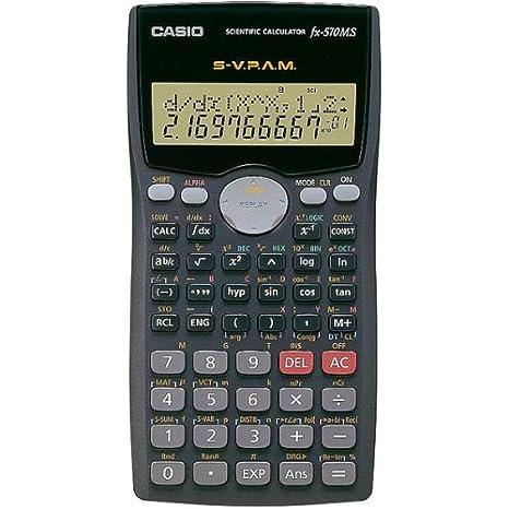 Casio fx-570es scientific calculator tweak – bust a tech.