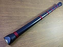 PVC Black Shakuhachi Japanese Flute 1.8 ...