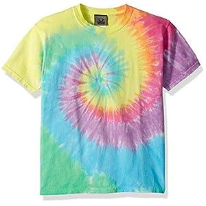 Liquid Blue Kids' Pastel Spiral Short Sleeve T-Shirt