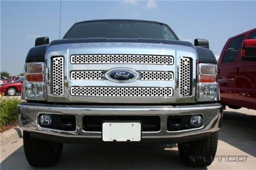 Putco 84197 Punch Mirror Stainless Steel Grille