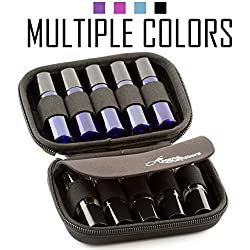 Essential Oil Carrying Case – Premium Storage Protection Perfect for Roller Bottles. Hard Shell Oils Carrier Cases Protect up to 10 Rollers - Travel Organizer Cases Best for Rollon Balls