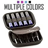 carrying Essential Oil Carrying Case – Premium Storage Protection Perfect for Roller Bottles. Hard Shell Oils Carrier Cases Protect up to 10 Rollers - Travel Organizer Cases Best for Rollon Balls