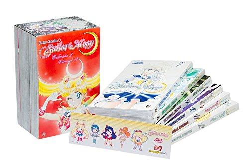 Sailor Moon - Volume de 7 à 12. Caixa