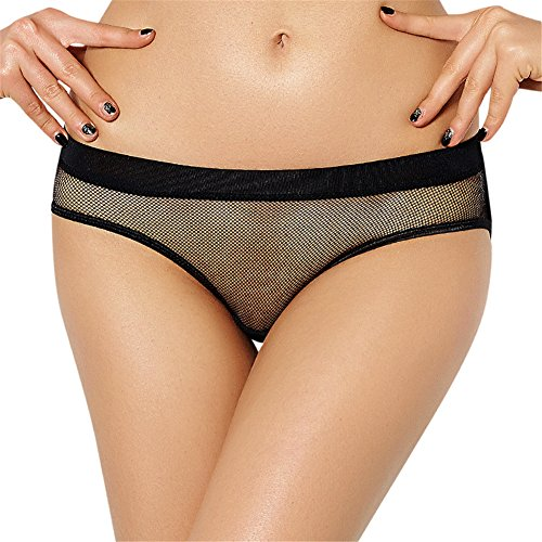 73e26d02c19f BQ Women's Lingerie Open Butt See Through Mesh Hole Open Crotch Hipster  Panties - Buy Online in KSA. Apparel products in Saudi Arabia.