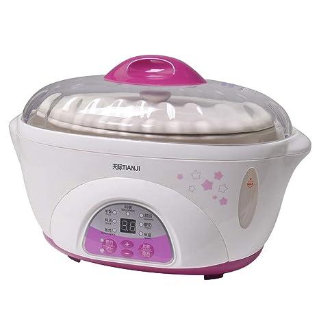 Amazon.com: Tonze DDZ-16BWS vaporera para cocinar alimentos ...