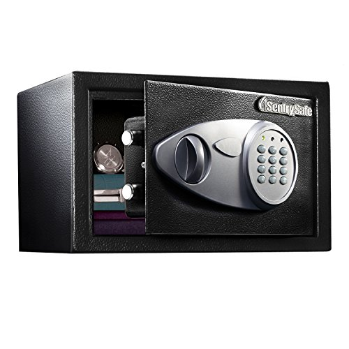 SentrySafe Security Safe, Medium Digital Lock Safe, 0.5 Cubic Feet, (0.5' Furniture)