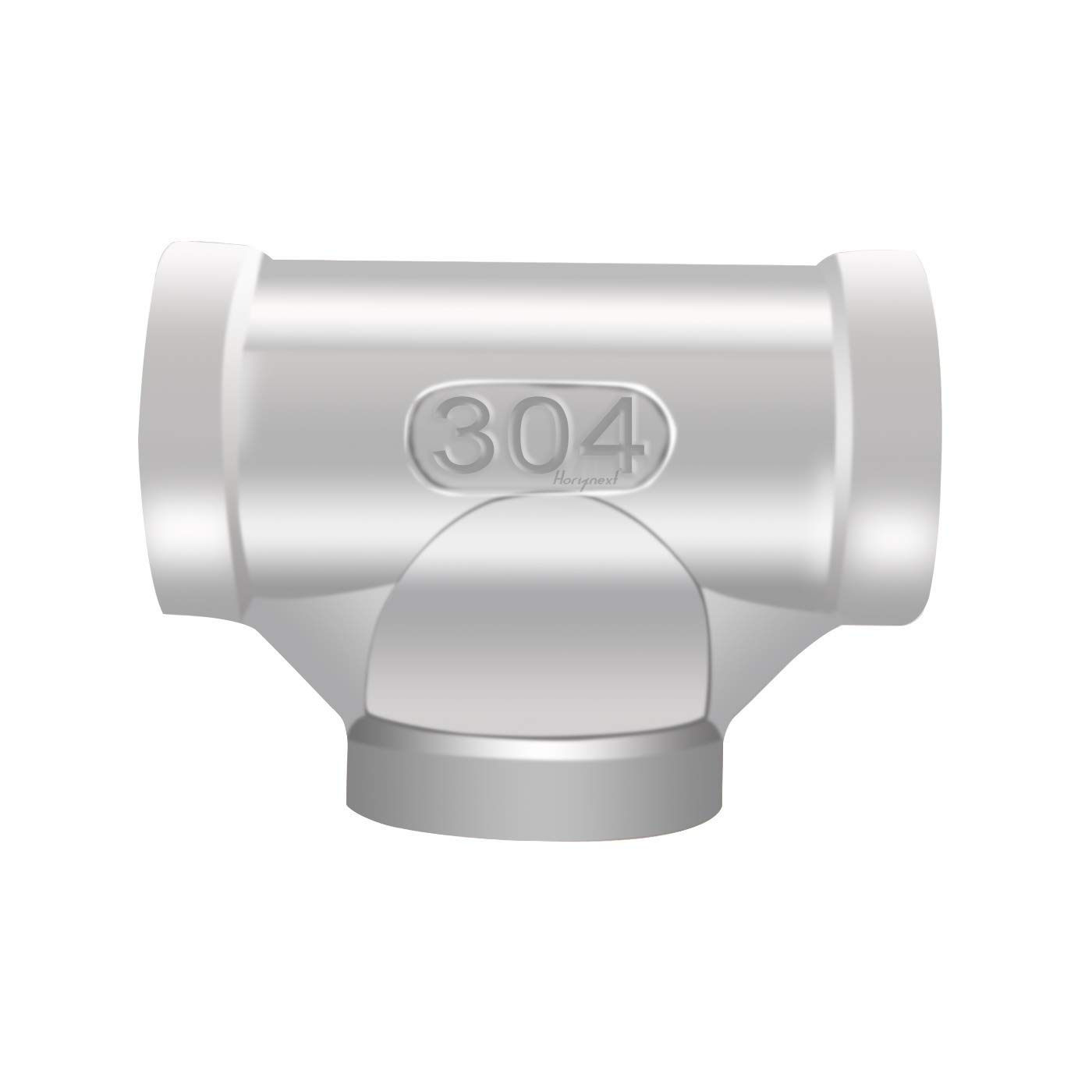 "Horiznext npt 1/2"" inch tee, Threaded Stainless Steel Pipe Fittings"