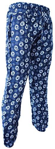 Little Kathmandu de las mujeres Algodón Elástico Floral Verano Casual pantalones K
