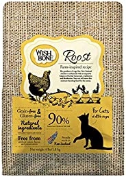 Wishbone Roost – Alimento Felino Livre de Grãos Wishbone Sabor Frango 1,81kg