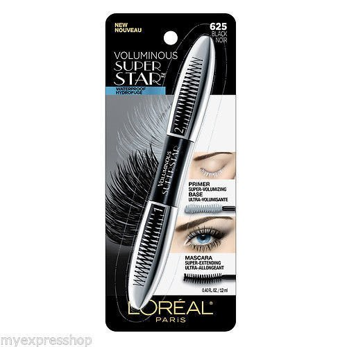 Lor Volms Superstr Wtp Bl (Mascara Lash Extending Loreal Black)