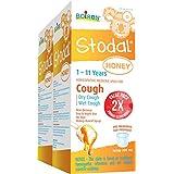 Boiron Children Stodal Honey Syrup, 2 X 200ml Bonus Pack for Dry or Wet Cough 400 Milliliter