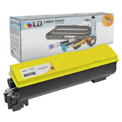 LD© Kyocera-Mita Compatible TK582Y Yellow Laser Toner Cartridge for use in FS-C5150Dn, and P6021cdn Printers