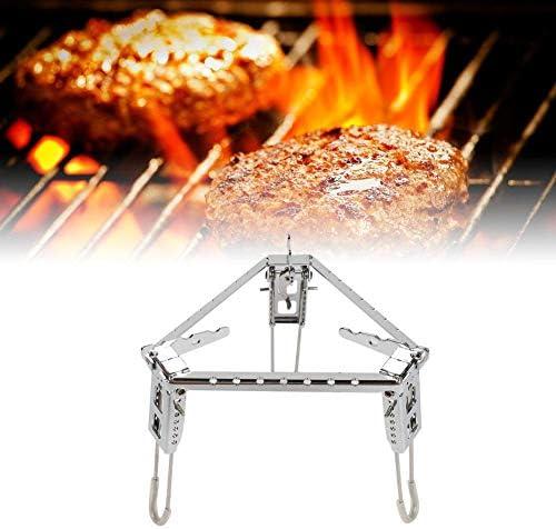 Barbecue portable pliable en acier inoxydable pour barbecue barbecue barbecue barbecue barbecue barbecue grille grille grille grille support support pour camping pique-nique