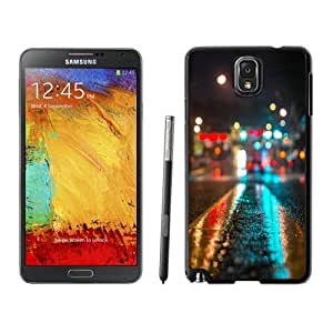 NEW Unique Custom Designed For Case HTC One M8 Cover Phone Case With Urban Cityscape Bokeh_Black Phone Case