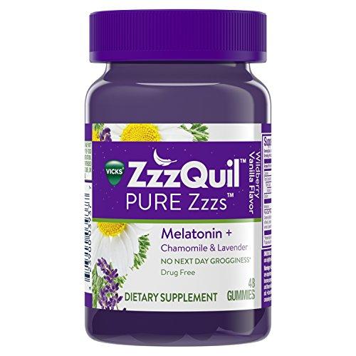 Best zzzquil pure zzzs melatonin gummies 24 for 2019