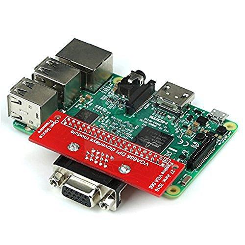 Raspberry Pi VGA666 DPI Dtoverlays Module, Gert-VGA-Adapter, or Passive VGA Adapter 666 for Raspberry Pi A+/B+/2B/3B/Zero, The Raspberry Pi has an HDMI Port to Connect a Display.