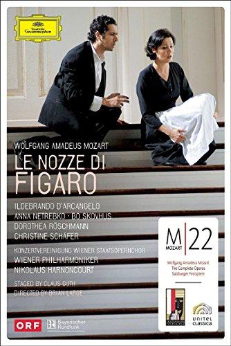 DVD : Nikolaus Harnoncourt - Le Nozze Di Figaro (2PC)