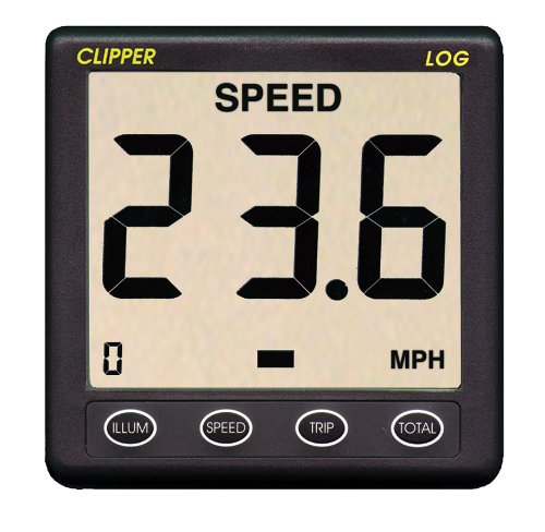 Clipper Speed Log Instrument w/Transducer & ()