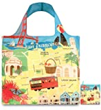 Best Franciscos - LOQI Urban San Francisco Reusable Shopping Bag, Multicolored Review