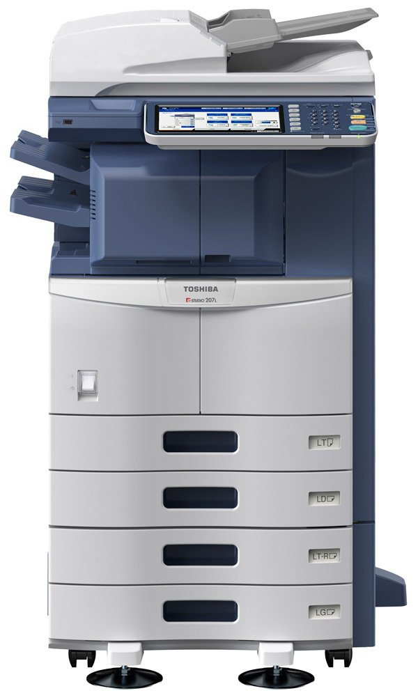 Amazon TOSHIBA Estudio 207L 20 PPM MONOCHROME MFP PRINT COPY SCAN FAX Electronics