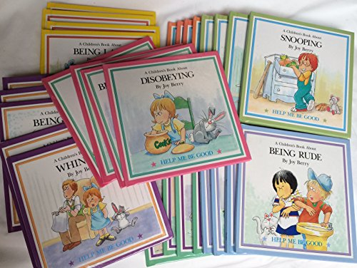 29 Book Set of Help Me Be Good By Joy Berry