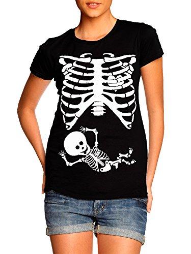Juniors Pregnant Baby Skeleton Rib Cage
