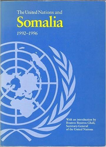 Book The United Nations & Somalia, 1992-1996 (The United Nations Blue Bks. Viii))