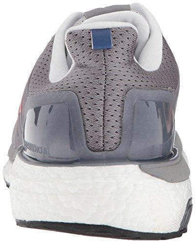 Adidas Mens Supernova St Aktiv Scarpa Da Corsa Grigio / Hi-res Rosso / Collegiata Reale