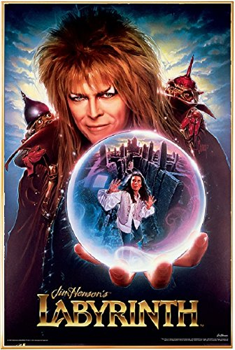 Labyrinth Movie Poster Mounted