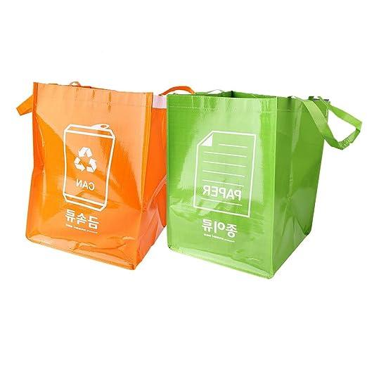 Cabilock - Bolsa de basura de plástico resistente al agua (3 ...