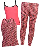 Body Glove Girls 3-Piece Athletic Tank Tops and