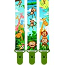 **LIMITED PROMO** 3 Pack Of Premium Pacifier Clip by KiddosArt, 2-Sided JUNGLE THEME Art, Stunningly Designed Pacifier Holders, Pacifier Leash, Baby Pacifier Clips for Girls and Boys