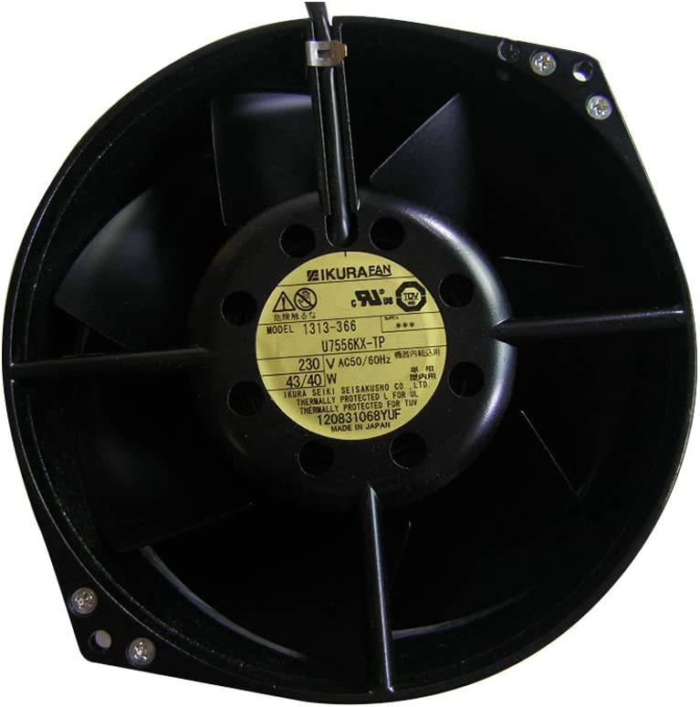 HRSTAR Original Ikura U7556KX-TP AC230V 40W Axial Cooling Fan for Yaskawa G7 Inverter