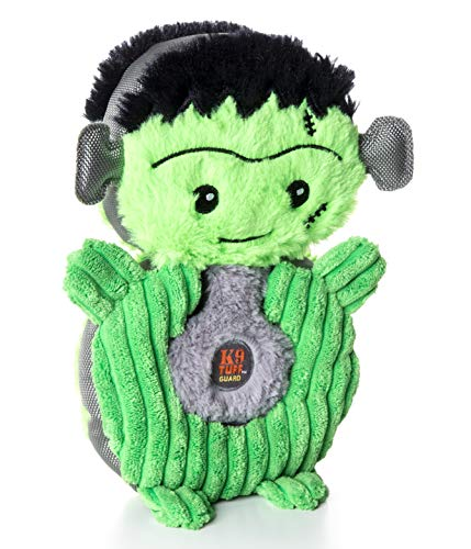 CHARMING Pet Frankenstein Puzzlers Halloween Dog Toy, Green