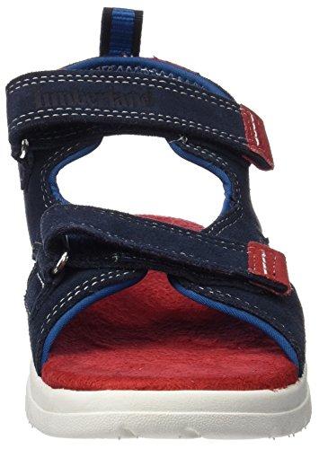 Timberland Unisex-Kinder Piermont H&l Sandalsapphire Hammer Ii Suede Sandalen Mehrfarbig (Sapphire Hammer II Suede)