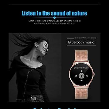 FLOVEME Reloj Inteligente Luxe [Alto de garmme Séries] Smartwatch ...