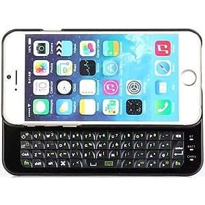 ZMY Fundas con Teclado - Diseño Especial - para iPhone 6 ( Negro/Blanco . Plástico ) . White