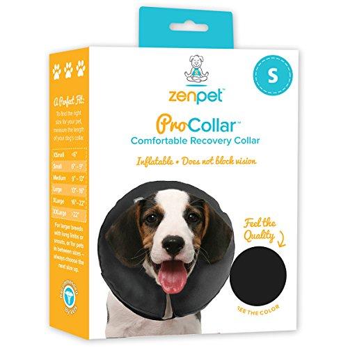 ZenPet Pro Collar Comfy Pet E-Collar For Dogs Small Vinyl Small Dog Collar