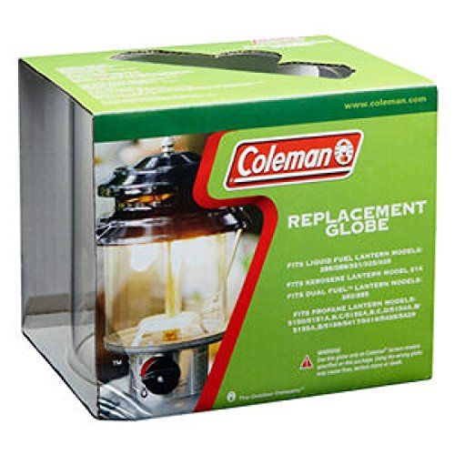 Coleman Clear Straight Lantern Globe (Similar to R690B048C) by Coleman