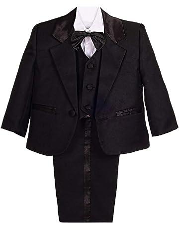 Suits & Blazers Bebone Kids Boys Tuxedo Outfits Clothes Wedding Gentleman Set Grey Baby Products