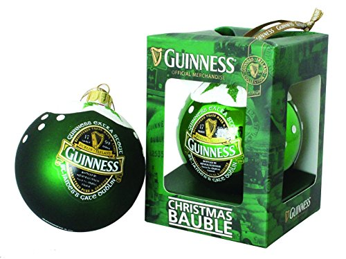 Guinness Green Collection Christmas Bauble, Gloss Finish - Tree Ornament - Guinness Green