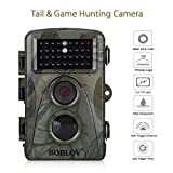 Hunting Wildlife Camera 1080p 12mp HD IR LEDS Infrared Night Vision 20m / 65ft IP66 Waterproof PIR Motion Detect Game Trail Cam 0.6s Trigger Time