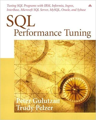 Pdf explained sql performance
