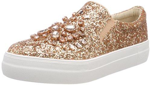 1bc86bfdc389 Buffalo Damen 51689633 Glitter Slip On Sneaker Mehrfarbig Rose 01 ...