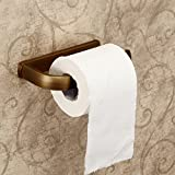 Hiendure® Wall Mounted Toilet Paper Holder Antique Brass Finish