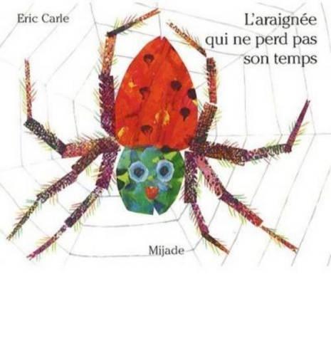"""Résultat de recherche d'images pour """"l'araignee qui ne perd pas son temps"""""""