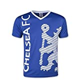 Chelsea FC Youth Soccer Training Jersey-Blue/White-Medium